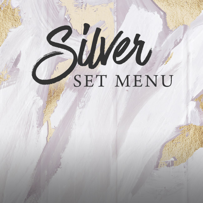 Silver set menu at The St George & Dragon