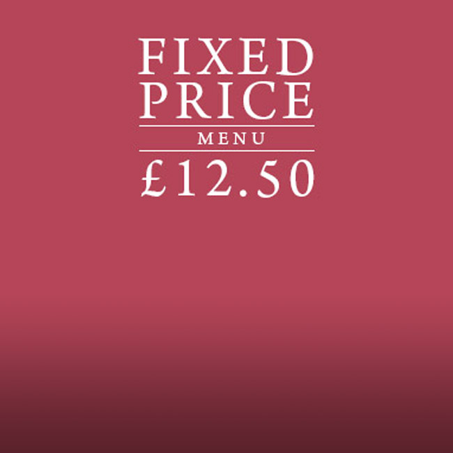Fixed Price Menu at The St George & Dragon
