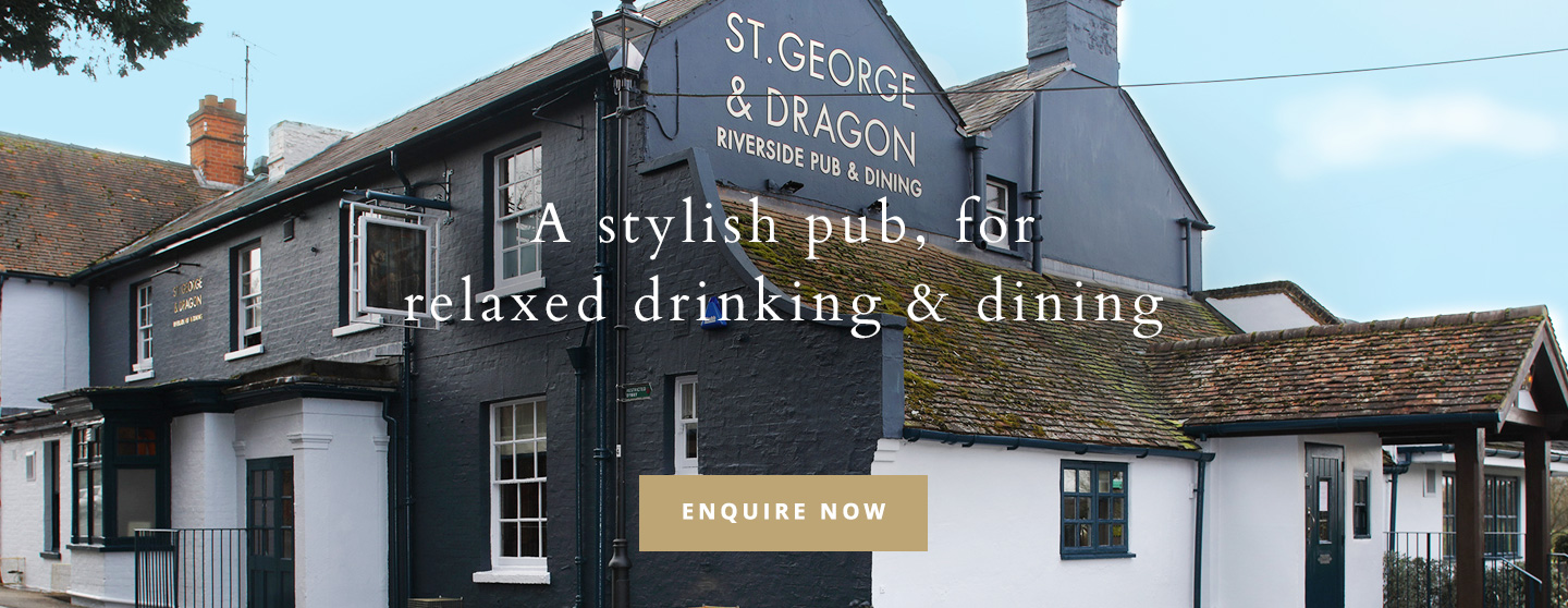 Welcome to The St George & Dragon